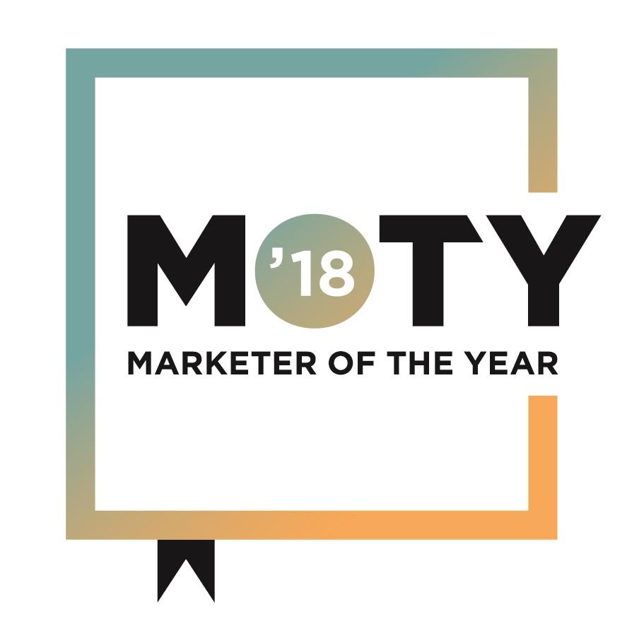 """Résultat de recherche d'images pour """"MOTY 2018 marketer of the year"""""""