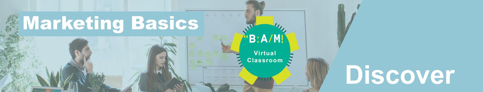 Discover_marketing basics_virtual classroom